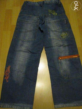 Spodnie jeansowe chłopięce 14