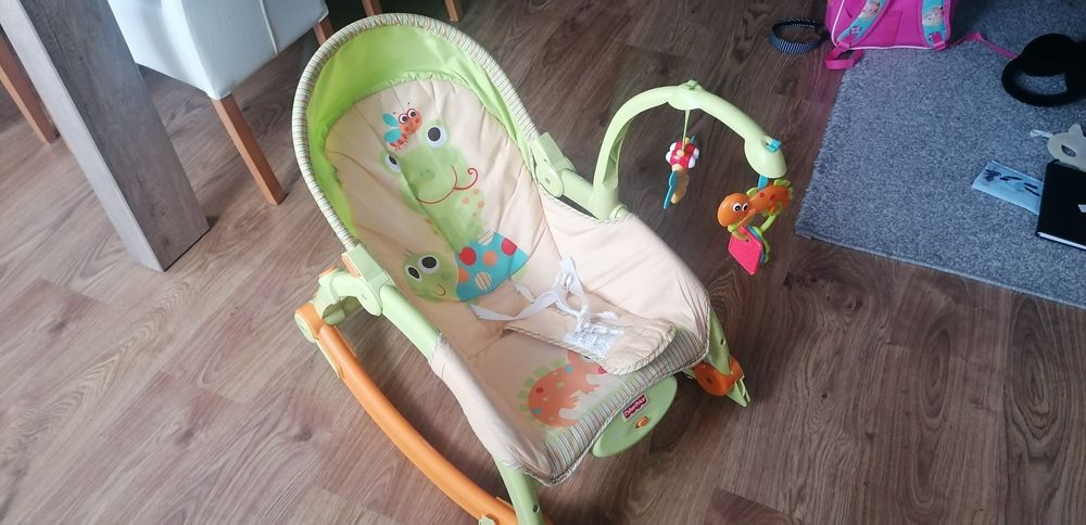Fotelik bujak z wibracją dla dziecka Chełmża - image 1