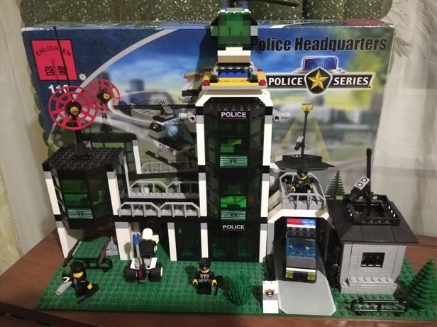 Лего набор полицейский участок