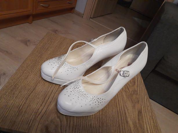 Buty do ślubu. Nie zniszczone!