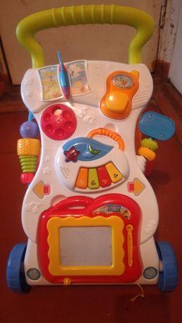 Ходунки-каталка для малышей с музыкальными эффектами