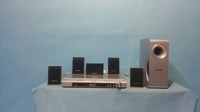 Kino domowe Panasonic SA-PT160 usb divix radio