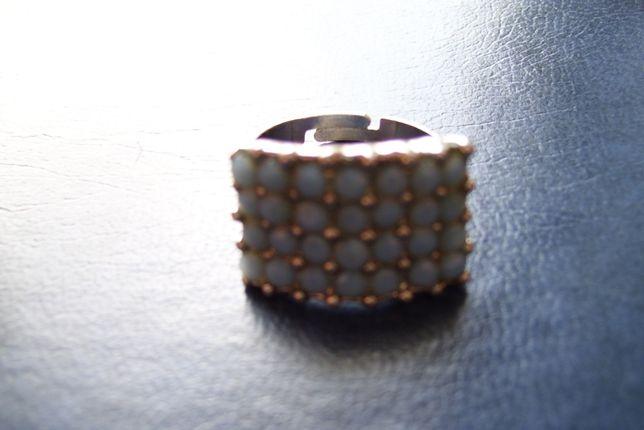 Stara bizuteria Srebrny pierścionek