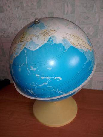 Глобус большой , пластиковый
