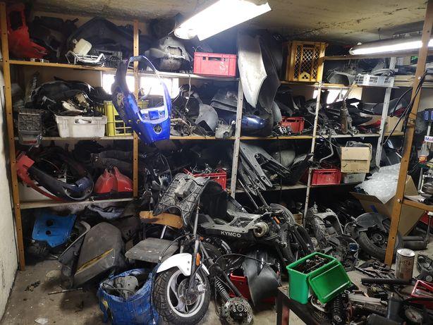 Sprzedam firmę biznes dużo części motocyklowych tylko markowe pakiet