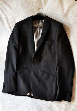 garnitur czarny męski ślubny