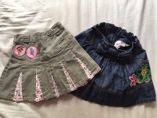 spódniczki dla dziewczynki w rozm. 80/86/92 (next)