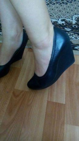 Туфли женские., Кожаные внутри, кожа снаружи