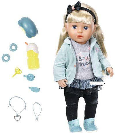 2 ПО ЦІНІ 1 Кукла Zapf Baby Born Сестренка Модница 824245