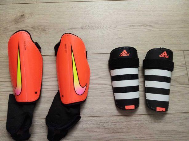 Ochraniacze piłkarskie Nike, adidas