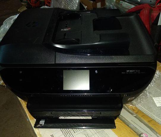 МФУ HP ENVY 7640 + картриджи, на запчастини або відновлення