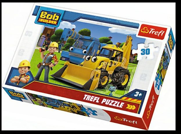 Nowe puzzle Bob budowniczy. Ekspresowa wysyłka