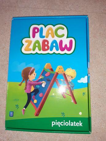 Zestaw kart pracy Plac Zabaw 5 lat
