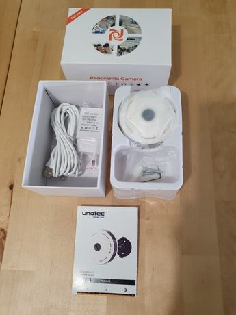Câmara de Vigilância para Tecto WiFi 360º - Unotec