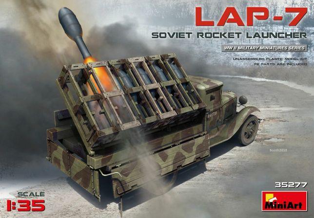 * MINIART - 1:35 * Soviet Truck LAP-7 Rocket Launcher
