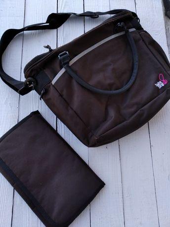 Пеленальная сумка baba bing, сумка для прогулок, термосумка.
