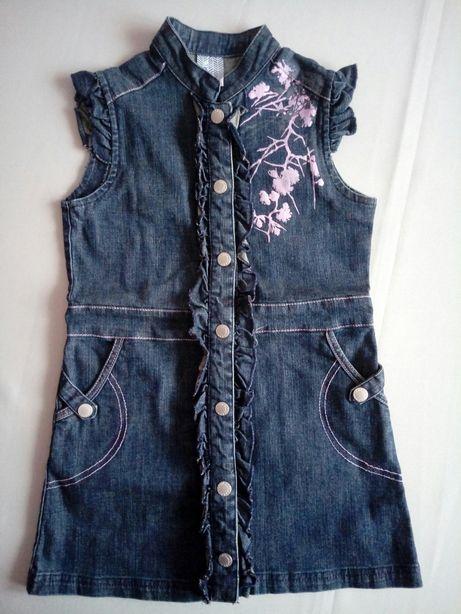 Sukienka jeansowa 110 coccodrillo