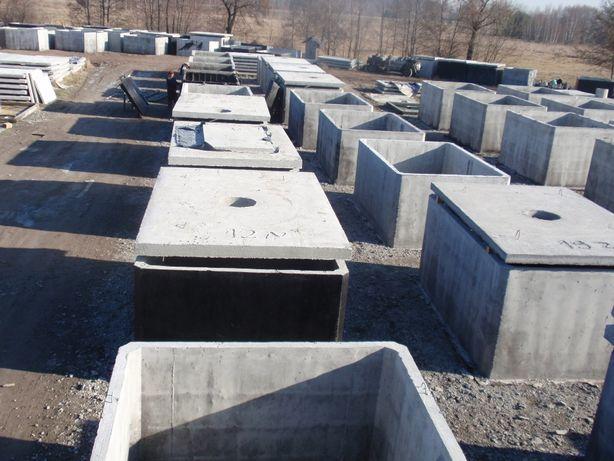 zbiornik betonowy na deszczówkę wodę ścieki szambo betonowe 12 10 8 6