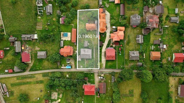 Земельна ділянка + будинок + господарські приміщення + погриб