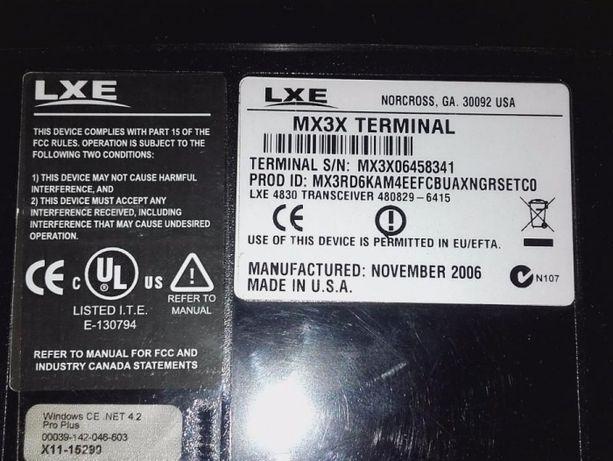 Komputer Honeywell LXE MX3