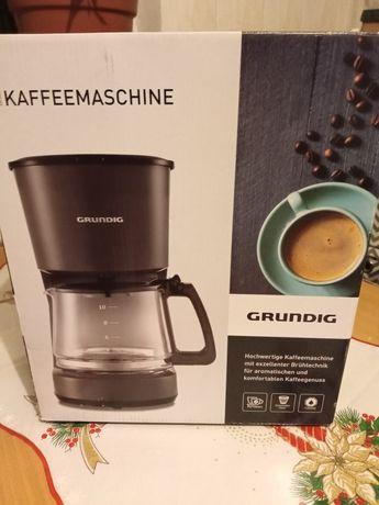 Ekspres do kawy Grundig KM 4620 przelewowy czarny