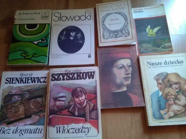 Stare książki./opowiadania wiersze