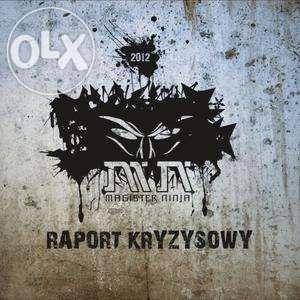 CD Magister Ninja - Raport Kryzysowy, nowa płyta, TANIO