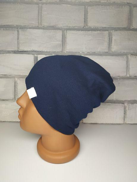 Демисезонная шапка до 51см головы