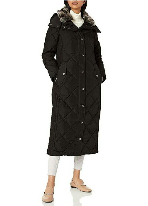 Пуховик длинный, пальто, пух/перо, London Fog р. S (на наш р. 46) Запорожье - изображение 1
