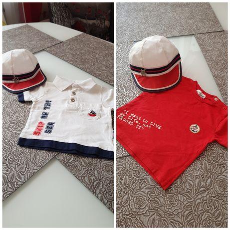 Обалденный набор Футболки Wojcik и GF Ferre и супер кепка