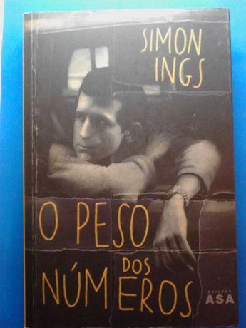 Simon Ings O peso dos números (Portes CTT Grátis)