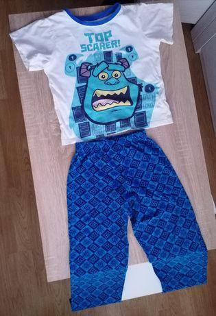 pidżamka z Monsters Top Scarer r. 128/134cm bawełniana dziecięca