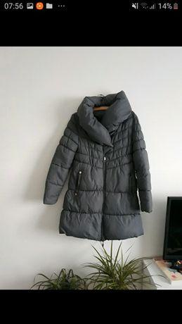 Płaszcz pikowany na zimę damski rozm M