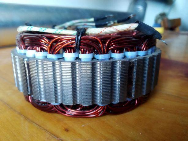 Обмотка статор генератора камаз г273в1