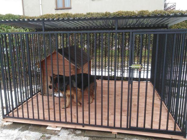 Kojce Klatki Boksy Kojec dla psa 2,5x2,5m
