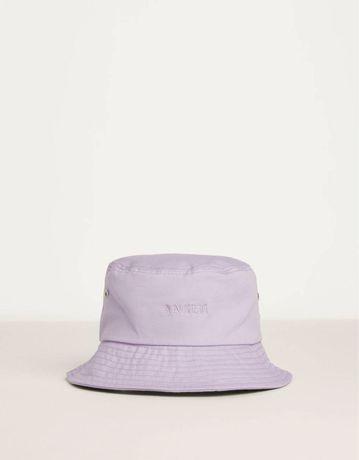 bucket hat z haftem nowy z bershki