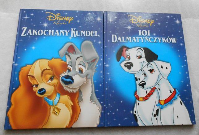 Zakochany kundel 101 dalmatyńczyków Disney Klasyka zestaw 2 książek