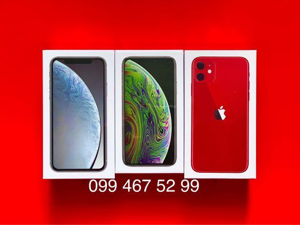 Новый iPhone 7 8 X XS Max XR 11 32Gb 64Gb 128Gb 256Gb Black Gold Red
