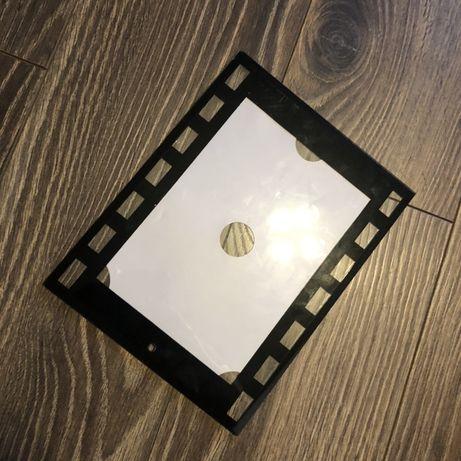 Szklana ramka na fotografie