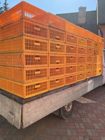 Skrzynki do transportu drobiu , ptaków , ryb