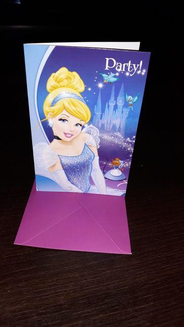 Zaproszenia Księżniczka urodziny