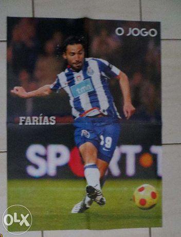 Posters Jogadores FCP, Farías, Bruno Alves, Raúl Meireles - 43X58