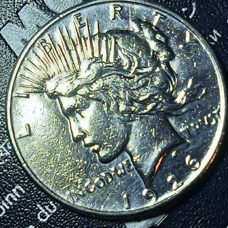 USA 1 dolar 1926 srebro