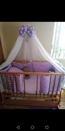 Продам дитячий набір і ліжечко