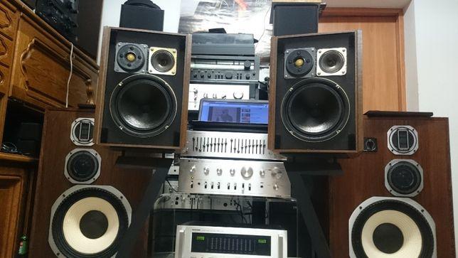 Kolumny Magnat Borg Goodmans Isophon Vintage Retro
