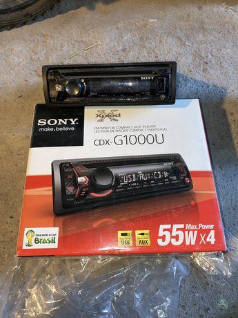 Radio samochodowe Sony CDX-G1000U