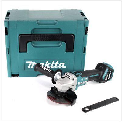 Akumulatorowa szlifierka z regulacją obrotów 18V Makita DGA513ZJ