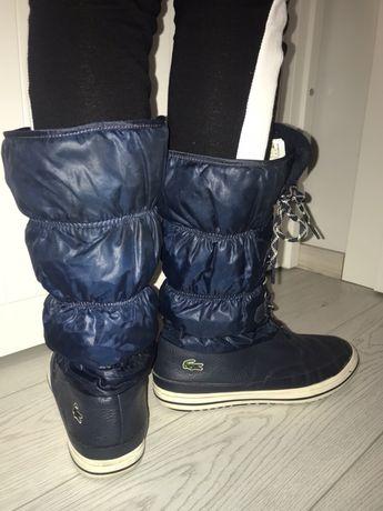Buty pikowane Lacoste
