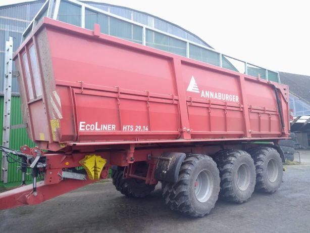 Annaburger Ecoliner HTS 29.14, tridem, 2019! przyczepa rolnicza