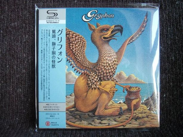 GRYPHON Cardboard Sleeve Japan mini LP SHM CD 2016